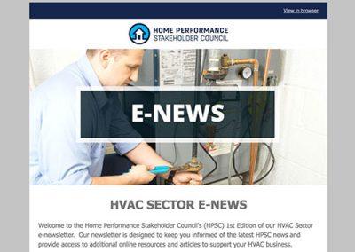 HVAC E-Newsletter – August 2016