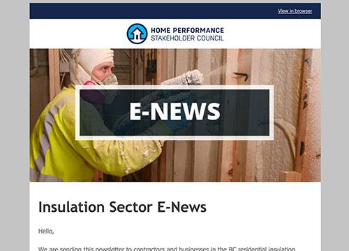 Insulation E-Newsletter – August 2016