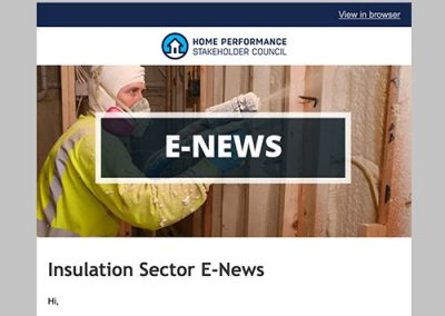 Insulation E-Newsletter – October 2016