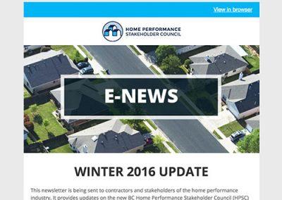 General E-Newsletter – December 2016