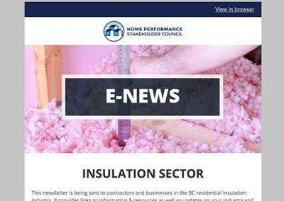 Insulation E-Newsletter – December 2016