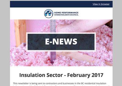 Insulation E-Newsletter – February 2017