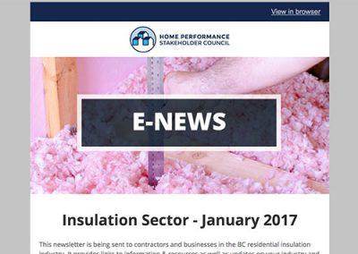 Insulation E-Newsletter – January 2017