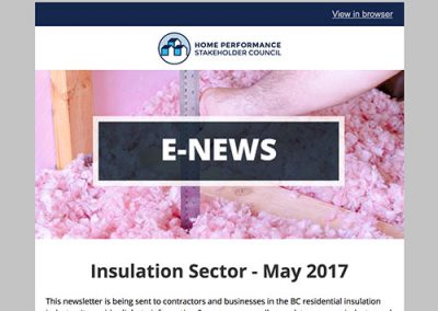 Insulation E-Newsletter – May 2017