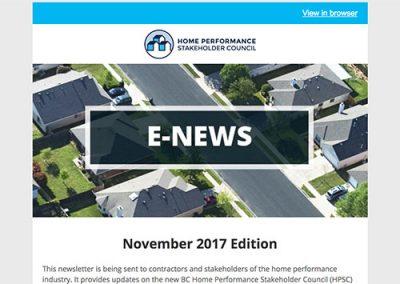 General E-Newsletter – November 2017