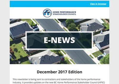 General E-Newsletter – December 2017
