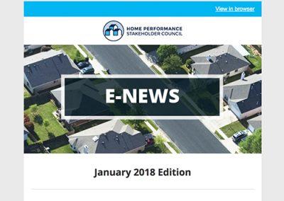 General E-Newsletter – January 2018