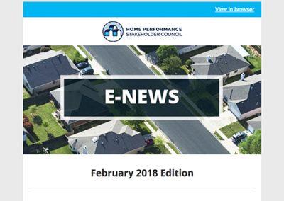 General E-Newsletter – February 2018