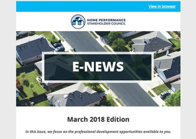 General E-Newsletter – March 2018