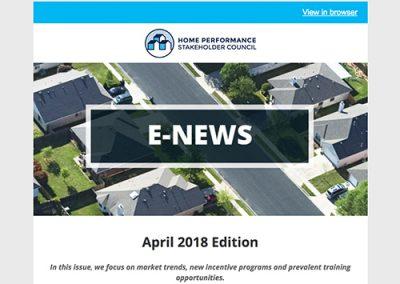 General E-Newsletter – April 2018