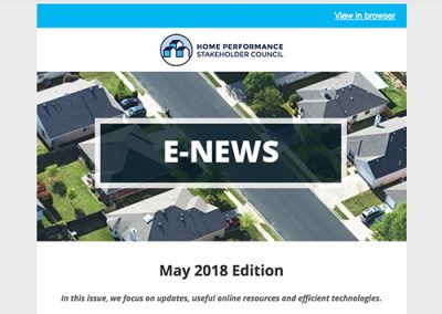 General E-Newsletter – May 2018