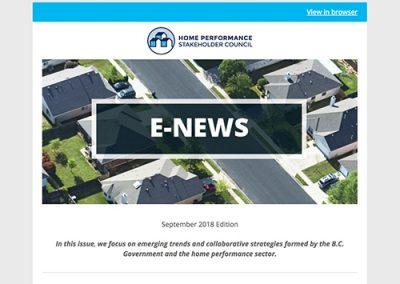 General E-Newsletter – Sept 2018