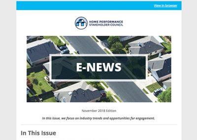 General E-Newsletter – Nov 2018