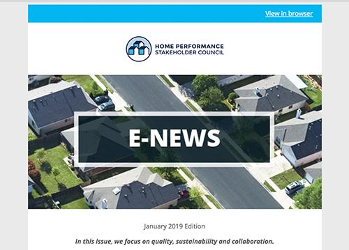 General E-Newsletter – Jan 2019