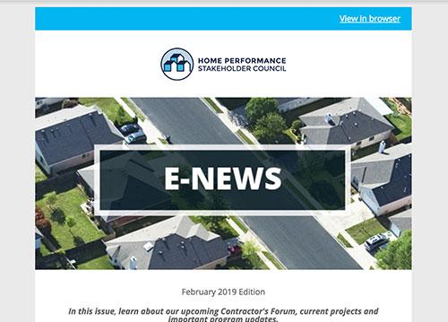 General E-Newsletter – Feb 2019