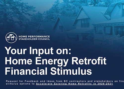 Home Energy Retrofits Financial Stimulus Webinar