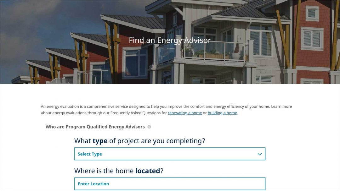 Energy Advisor Online Search Tool Debuts